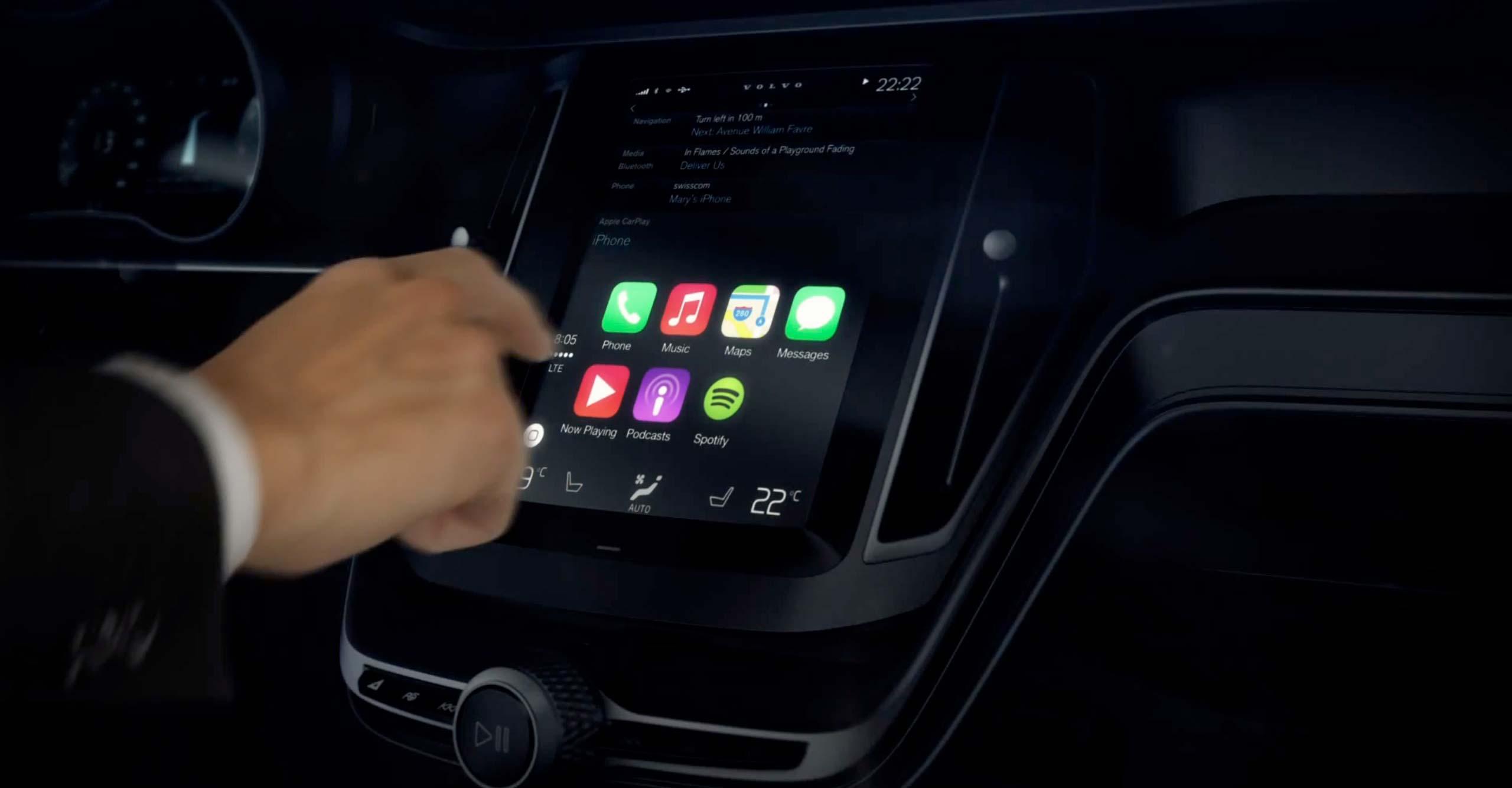Apple назвала марки автомобилей с поддержкой CarPlay