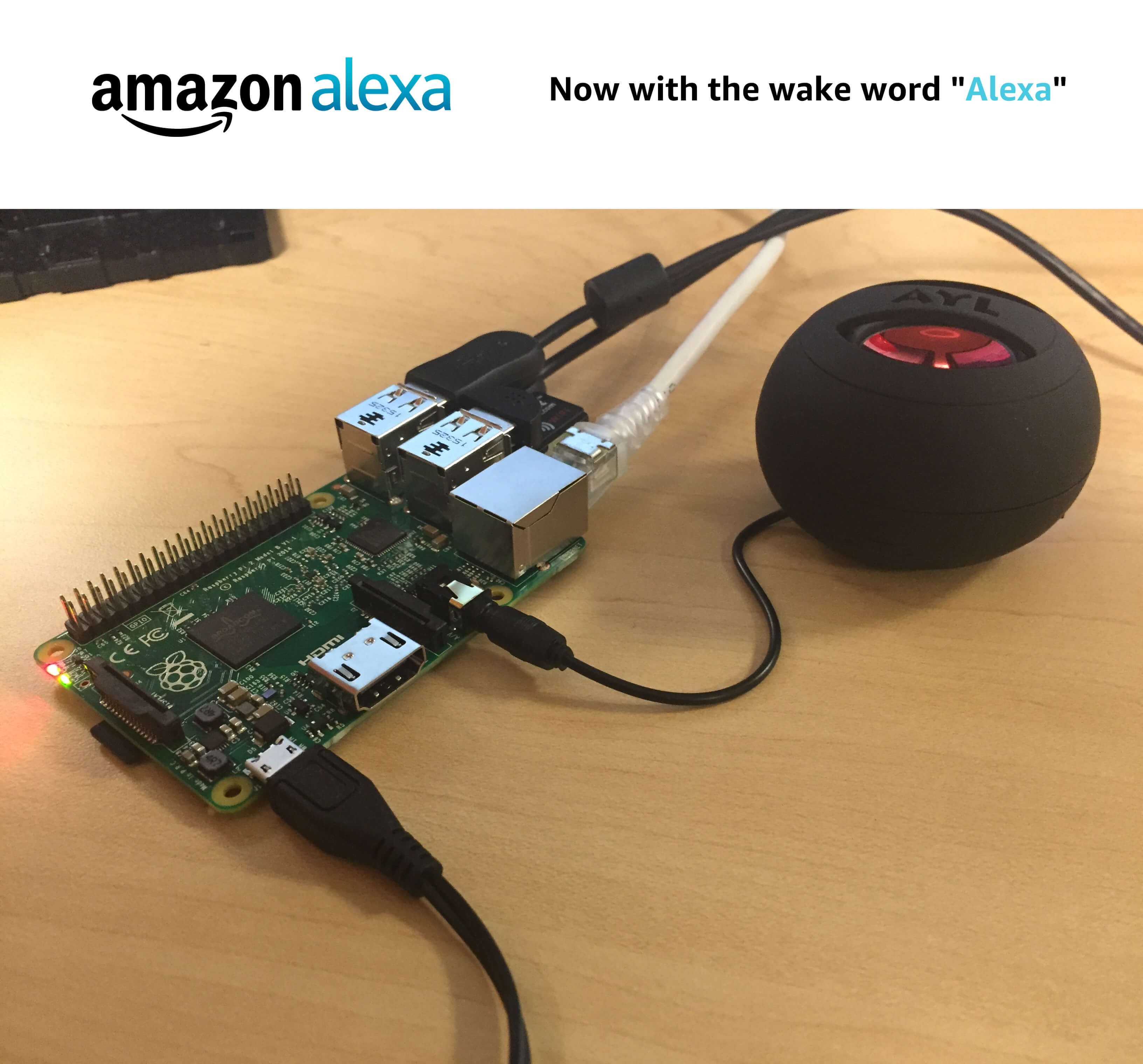 Raspberry Pi 3 Alexa