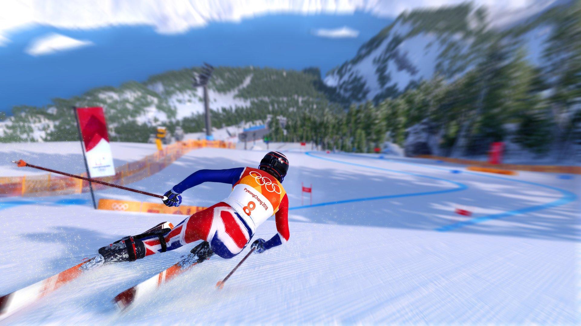 Steep Road to the Olympics Screenshot