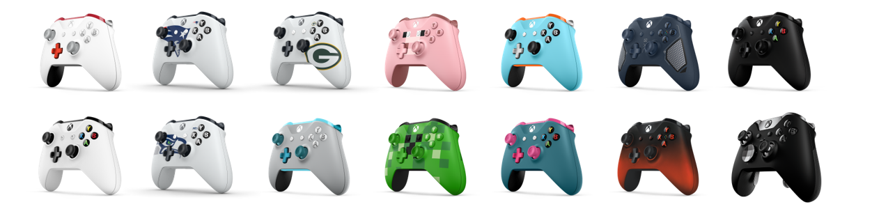 Xbox Wireless Controller Options for Holiday 2017