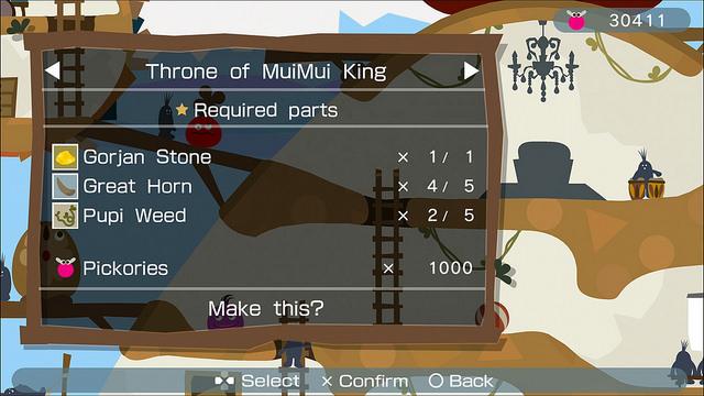 LocoRoco 2 Remastered: MuiMui House