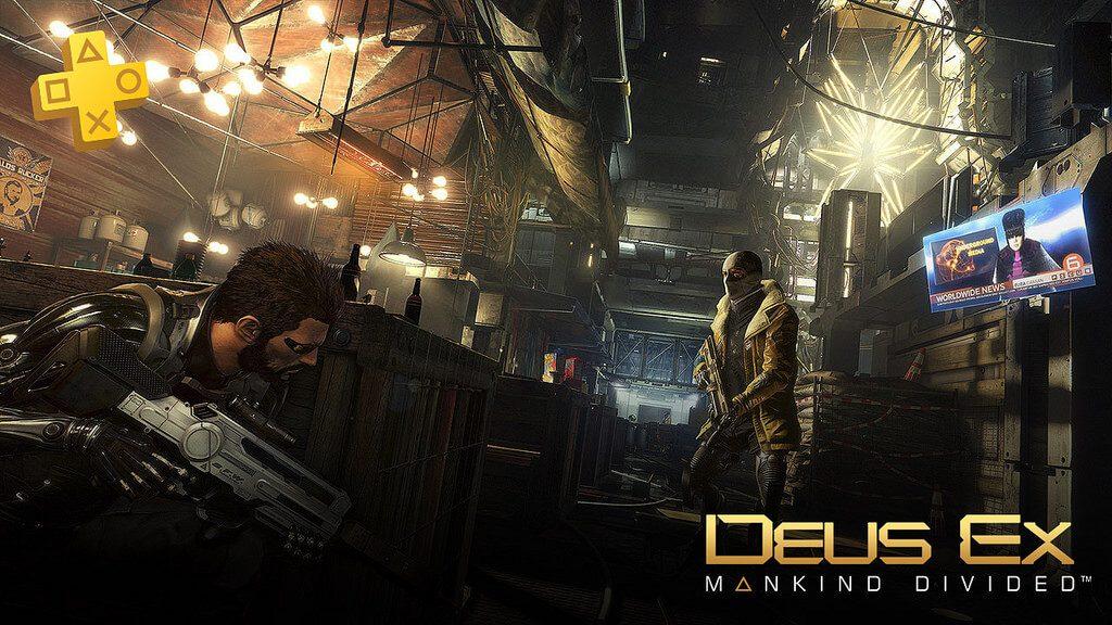 PlayStation Plus January 2018: Deus Ex - Mankind Divided