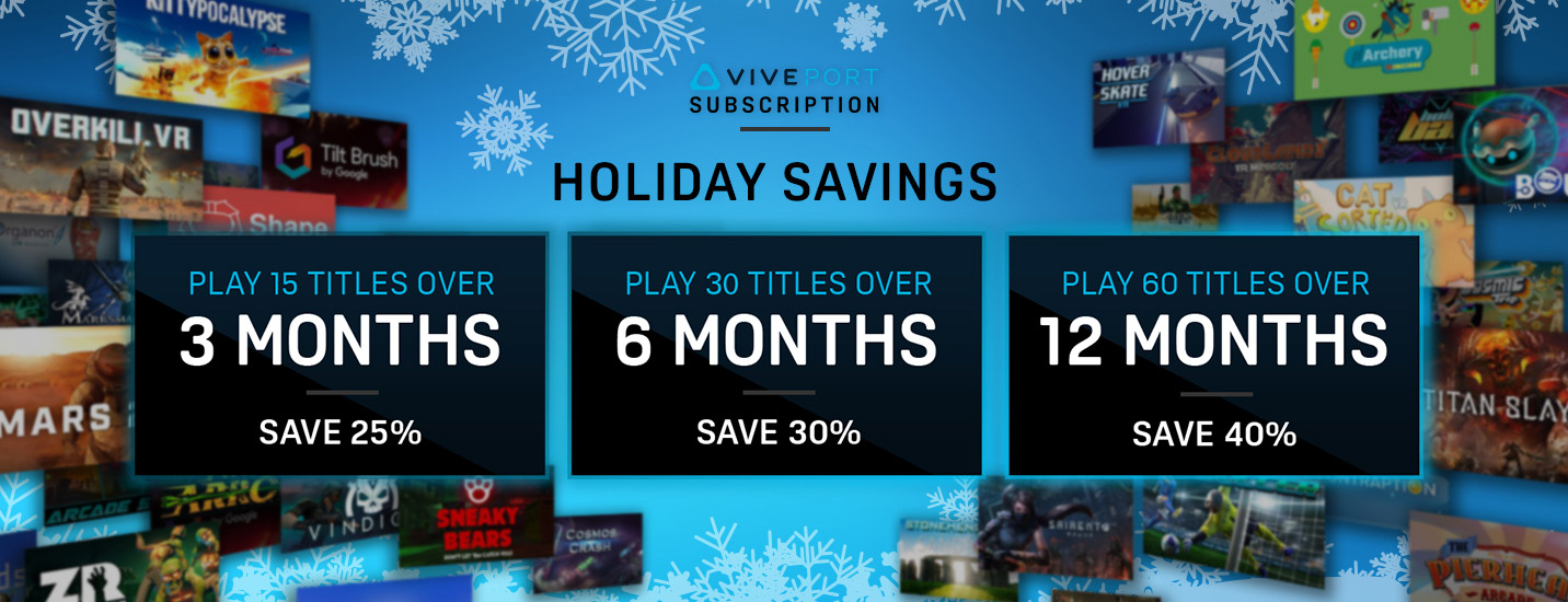 Save on Viveport Subscription