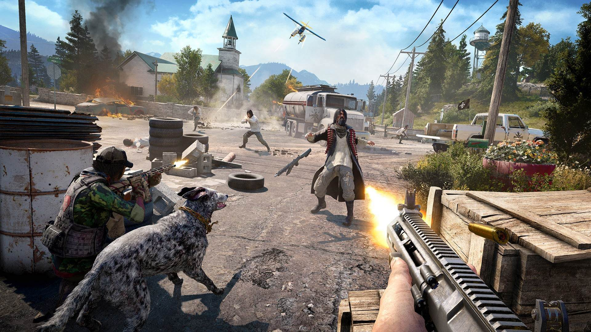 Far Cry 5 First 10 Minutes - XBOX ONE Gameplay