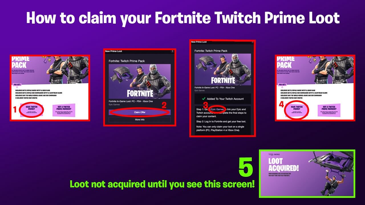 Squad Up in Fortnite with the Exclusive Twitch Prime Pack ...