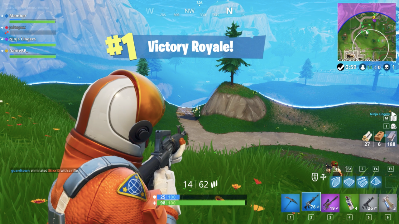 Fortnite Battle Royale Review Laying The Foundation