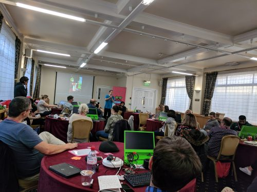 Educator workshop at PyCon UK