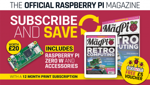 The MagPi subscription offer — Raspberry Pi home automation and tech upcycling
