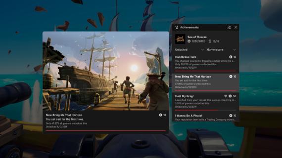 Xbox Game Bar Update: Jetzt kommen FPS-Zähler und Achievement-Tracking!