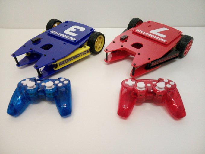 SoccerBots demonstrate how robots can interact