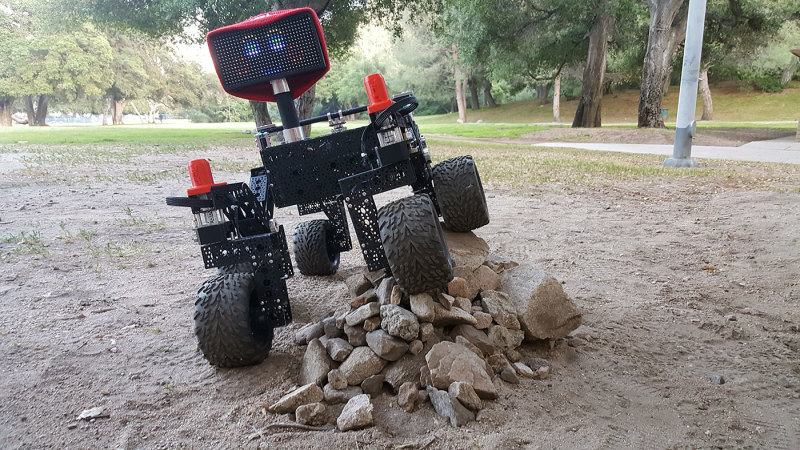 ROVE-E is NASA's off-the-shelf, Raspberry Pi-controlled, Mars Rover