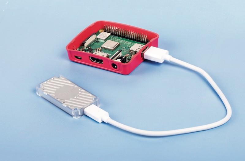"<p/>The Coral USB Accelerator and a Raspberry Pi ""></a></p><h3>TensorFlow Cucumber Sorter</h3><p><b>Maker: </b><a href="