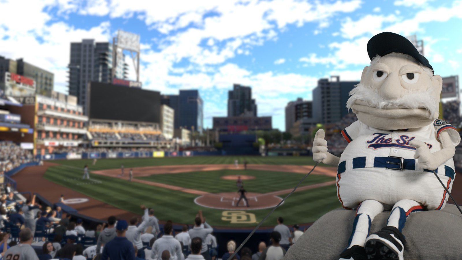 Video Conference Backgrounds - MLB The Show