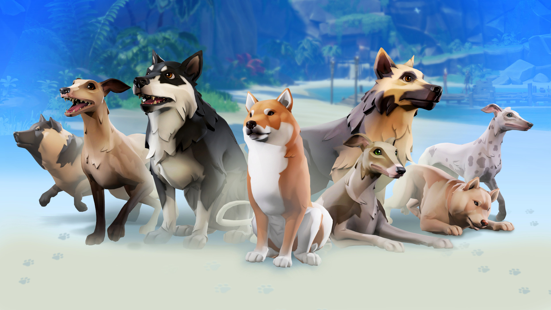 Sea of Thieves dogs