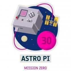 Logo of Mission Zero, part of the European Astro Pi Challenge