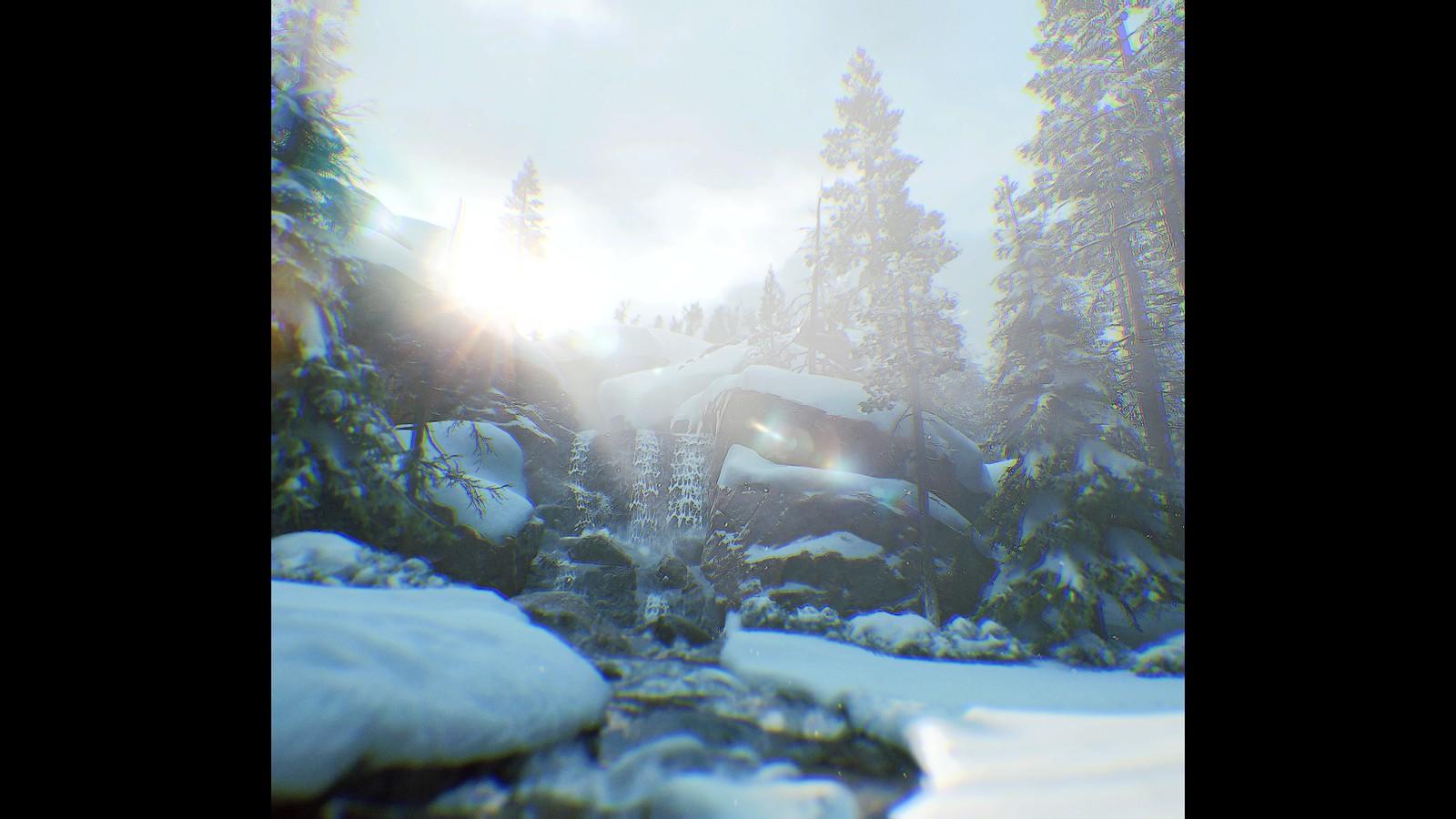The Last of Us Part II_Waterfall-1 - Matt Neapolitan
