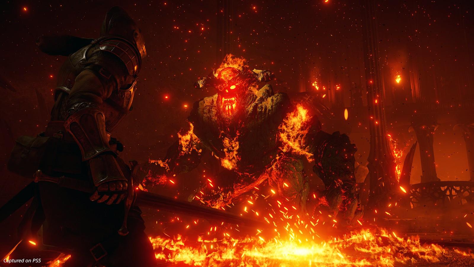 Demon's Souls - Flamelurker