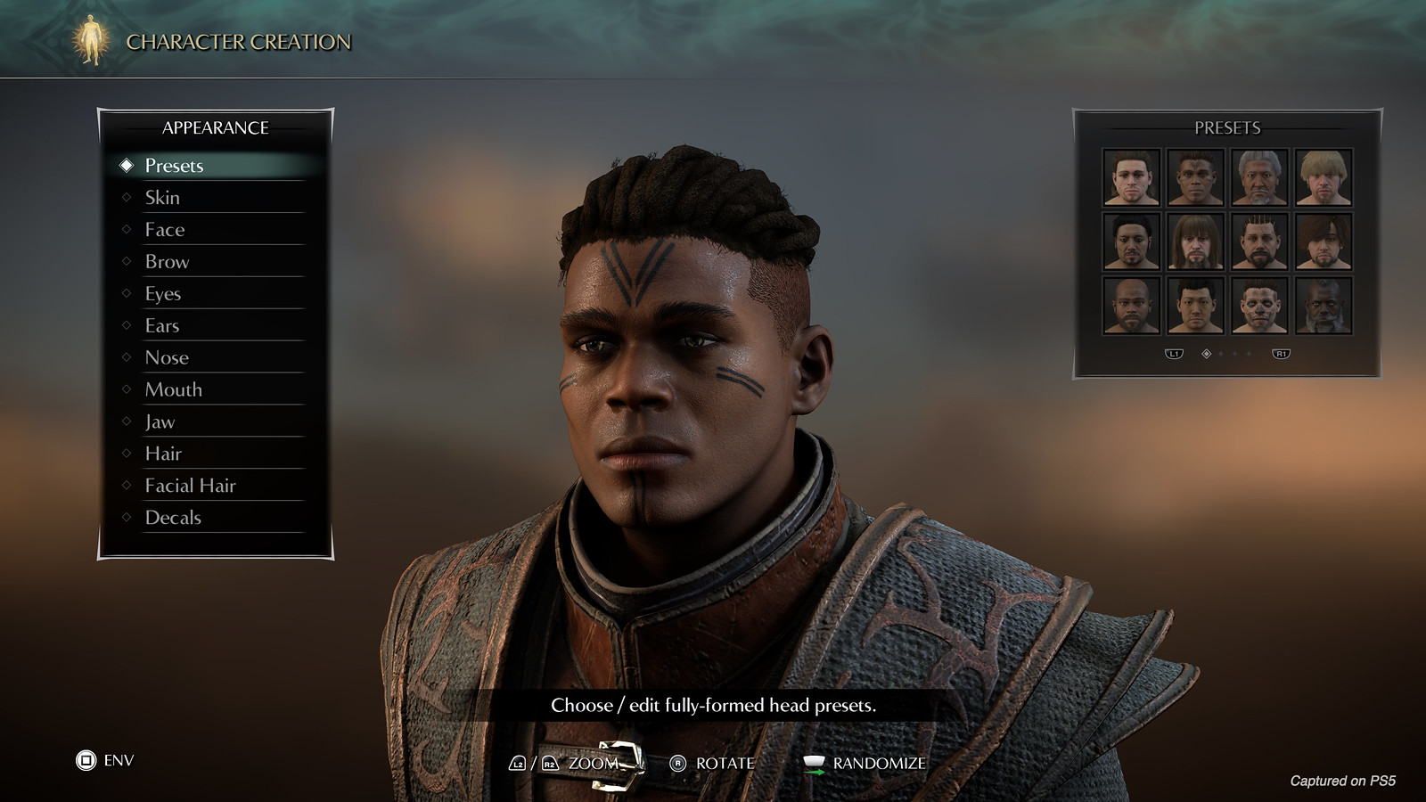 Demon's Souls - Character Creator